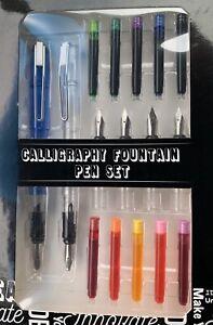 calligraphy fountain pen set