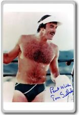 Tom Selleck Autographed Preprint Signed Photo Fridge Magnet
