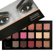 Pro 18 Colors Eyeshadow Textured Pallete Faced Matte Makeup Eye shadow Palette