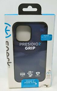 """Speck Presidio2 Grips Case for iPhone 12 iPhone 12 Pro 6.1"""" MagSafe Compatible"""