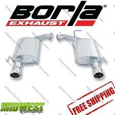 11758 Borla Touring Rear Exhaust Fits 2007-2011 Toyota Camry LE SE XLE 3.5L V6