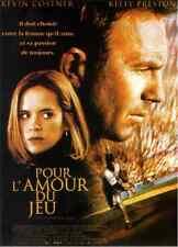 Trailer Bande annonce cinéma 35mm 1999 POUR L'AMOUR DU JEU Costner Preston NEUVE