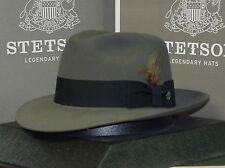 STETSON PINNACLE LUXURIOUS SOFT FUR FELT FEDORA DRESS HAT