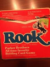 VINTAGE 1978 ROOK CARD GAME Complete with Tournament Instructions