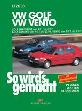 VW GOLF 3 1991-1997 VARIANT VENTO REPARATURANLEITUNG SO WIRDS GEMACHT 79 WARTUNG