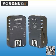 Yongnuo YN-622N II YN622NII Wireless TTL Flash Trigger with HSS fo Nikon Cameras
