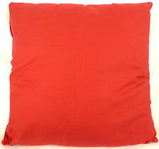 "Domestications Solid Cover Reversible Toss Pillow Barn Red 16x16"" #644KCZ 19140G"