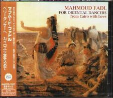 Mahmoud Fadl - For Oriental Dancerd-from Cair - Japan CD - NEW