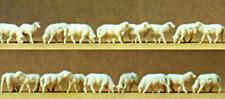 HO Preiser NATIVITY SCENE EIGHTEEN (18) SHEEP FIGURES  * CHRISTMAS Diorama *