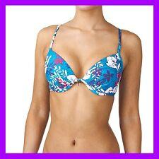 Sexy nouveau Lepel Malibu soutien-gorge haut de bikini floral lumineux ~ rrp £ 27 ~ SZ 32e