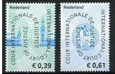 NVPH D59-60  POSTFRIS COUR DE JUSTICE 2004