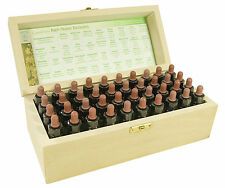 Complete set of 10ml Bach Flower Remedies in a Wooden Box