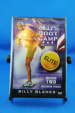 Billy's Boot Camp Elite Mission Two Maximum Power ~ New Factory Sealed DVD