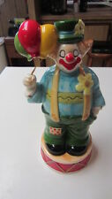 "Vintage Enesco Musical Clown ""Music Box Dancer"" Music Box, 9 1/4 in. Tall"