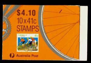 Australia MNH MUH - 1989 Sport - Cycling (Booklet)