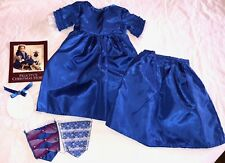 American Girl Felicity's  Holiday Christmas Gown and Stomacher       JB0497