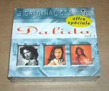 3 CD DALIDA BAMBINO COME PRIMA LE TEMPS DES FLEURS SOUS CELLO