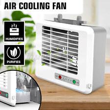 Mini Klimaanlage Luftkühler Tischventilator Klimagerät USB Ventilat