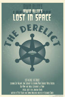 Lost In Space The Derelict by Juan Ortiz Episode 2 of 83 Art Print Poster 12x18