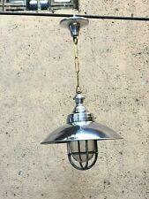 Nautical Marine Replica Hanging Cargo Chandelier Light with Deflector Cap Lot 50