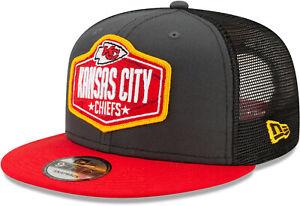 Kansas City Chiefs New Era 9Fifty NFL 2021 Draft Snapback Cap