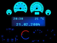 Blauer Tacho Komplettset Armaturenbeleuchtung Opel Astra G Zafira A Corsa C
