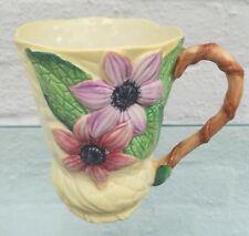 Vintage Carlton ware Australian Design Clematis chocolate mug