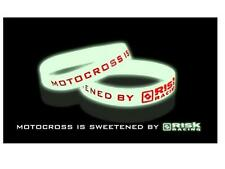Risk Racing Motocross Bracelet Silicone - Brillant BMX MTB ATV EVO