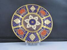 Quality Hand Painted Caverswall Romany Plate 22 ct Gold C Downing Imari Pattern