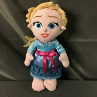 "Disney Babies Frozen Elsa Plush 12"" Stuffed Toy"