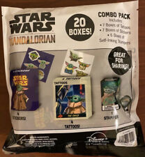 20 Boxes  The Mandalorian The Child Baby Yoda Valentines Day Party Favors