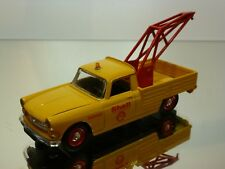 ELIGOR PEUGEOT 404 CRANE PICKUP 1964 - SHELL - YELLOW 1:43 - EXCELLENT - 1