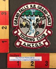 Canada Biker Patch Grand Falls New Brunswick Grand-Sault Touring Club Motor 56BB
