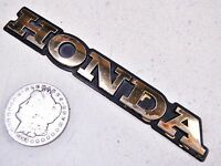 """86 HONDA GL1200A LEFT/RIGHT FRONT FAIRING """"HONDA"""" BADGE EMBLEM"""