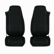 Mercedes Actros MP4 after 2015 Truck Seat Covers 2 pieces with GREY piping