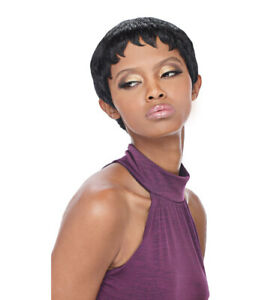 PIXIE - OUTRE 100% HUMAN HAIR PREMIUM DUBY WIG SHORT FEATHERED CUT