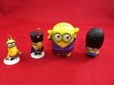 Minions Figures Mixed Toy Set of 3 Despicable Me Figurines with Bases