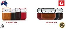 Leather Protective Tough Slim Cover Case For Apple AirPods 1 & 2 / Airpods Pro
