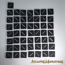 X20 20 mm Bases Socle-Warhammer//WARHAMMER 40K//SEIGNEUR DES ANNEAUX