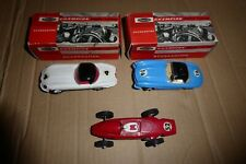 """3 x ELECTRIC TRACK RACING CARS - """"JOUEF for PLAYCRAFT""""  - CHAMPION MOTOR RACING"""