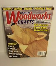 WOODWORKS Creative Wood Craft Scroll Saw Patterns Full Size Patterns October 199