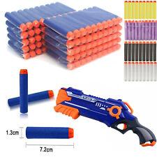 120Pcs Gun Soft Refill Bullets Darts Round Head Blasters For Nerf Gun N-Strike