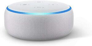 Amazon Echo Dot (3. Génération) WLAN Haut-Parleur Alexa, Grès Neuf Ovp