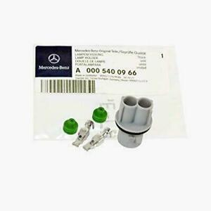 Mercedes C GL CL GLK ML SLK Class GENUINE License Plate Light Lamp Socket NEW OE