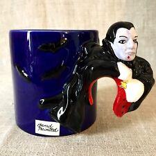 Dracula Vampire Bergschrund Seattle 1992 Coffee Cup Mug Made in Sri Lanka Rare