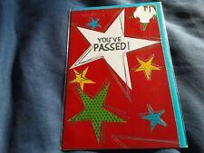 You passed Greeting Card BNIP - stars