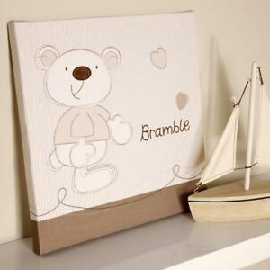 Baby BrambleWall Canvas Nursery Decoration Accessories Gifts by Bed E Byes