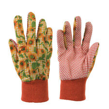 Batch of 3 Pairs Gloves Gardening to Print Floral Size M