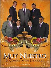 Promo only video CLIPS CD+dvd EL COMBO DE LAS ESTRELLAS PeterninaGAVIOTA Karaoke