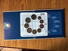SERIE 9 MONETE IN EURO 2010 OFFICIAL COIN SET CAVOUR NUMISMATICA SUBALPINA